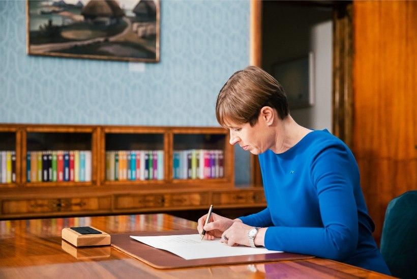 FOTOD | President vabastas Kert Kingo ametist ja avaldas muret Eesti e-riigi pärast
