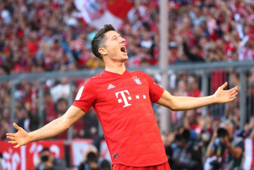 VIDEO   VÄRAVAMASIN: uskumatus hoos Lewandowski vedas Bayerni võidule ja püstitas võimsa rekordi
