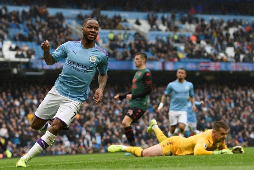 Manchester City sai tugeva teise poolaja toel suure võidu ning astus liidrile kandadele