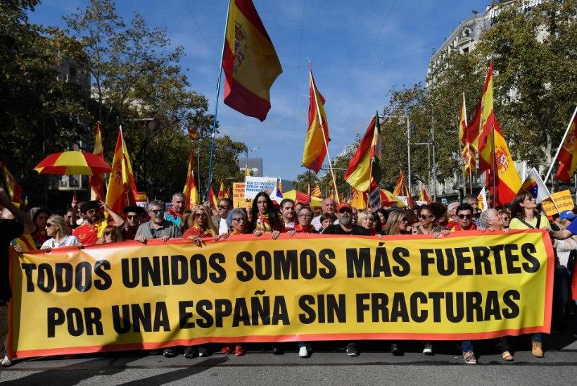 Hispaania meeleavalduste ja vastumeeleavalduste küüsis