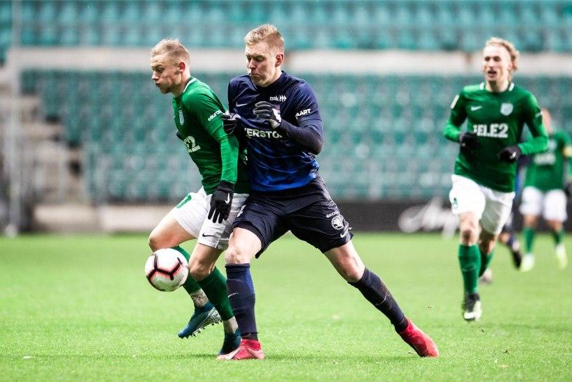 GALERII | PIDU! Liiga parim väravakütt kindlustas FC Florale 12. Eesti meistritiitli