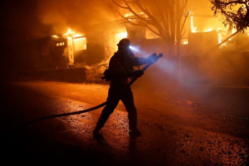 LeBron James põgenes kodust: California metsapõlengud jõudsid juba Los Angelesse