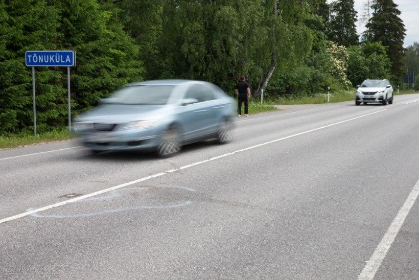 Maanteeamet korjab kokku 100 ja 110 km/h kiirust lubavad märgid