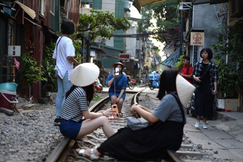 Vietnami turistitänaval pannakse end mõtlematult ohtu