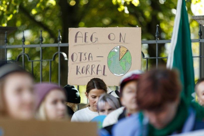 Eesti valitsus toetab 2050. aastaks kliimaneutraalsuseni jõudmist