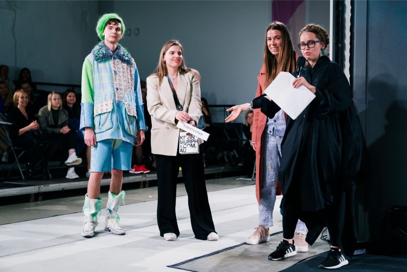 Roberta Einer tõrjub kahtlust, et ta napsas idee noorelt moedisainerilt