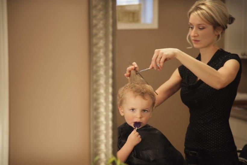 Lapse esimene juuksuriskäik: kuidas valmistuda?