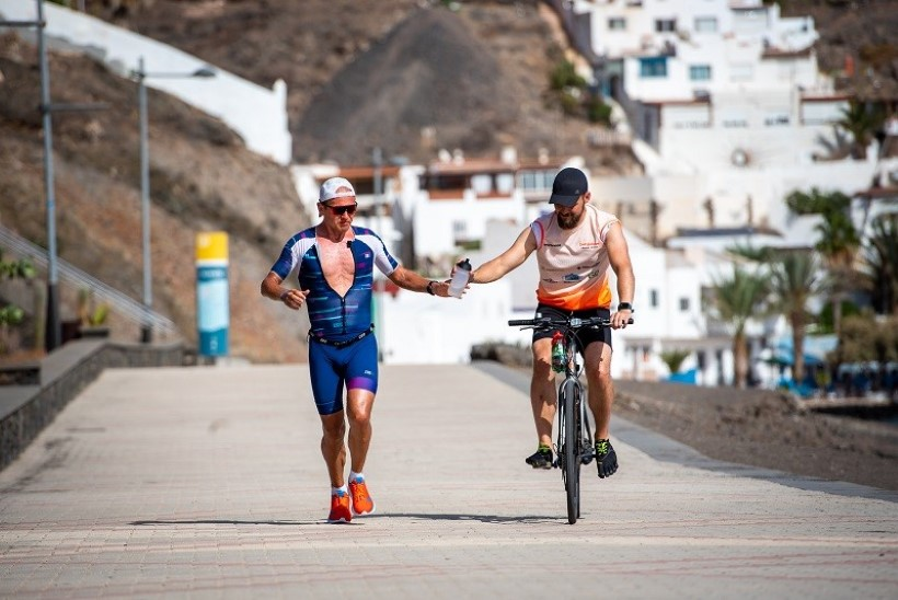 VIDEO | Ratasepp läbis viis triatlonit müstilise ajaga, kuid 35 on veel minna