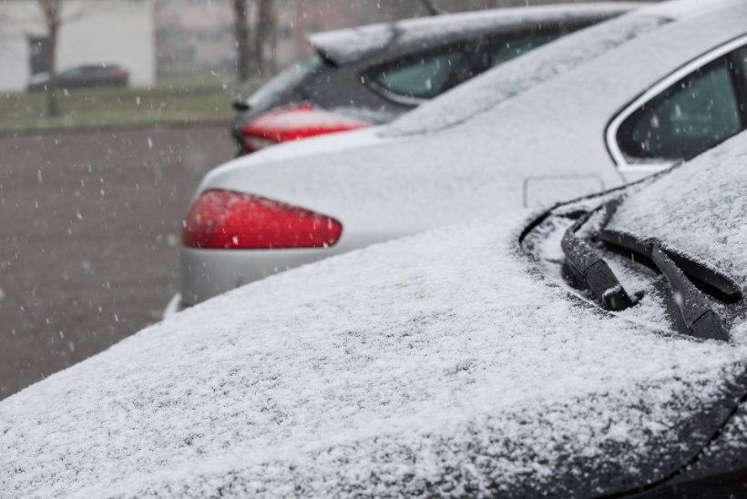 FOTO | SAADA PILTE! Saabunud on esimene lumi!