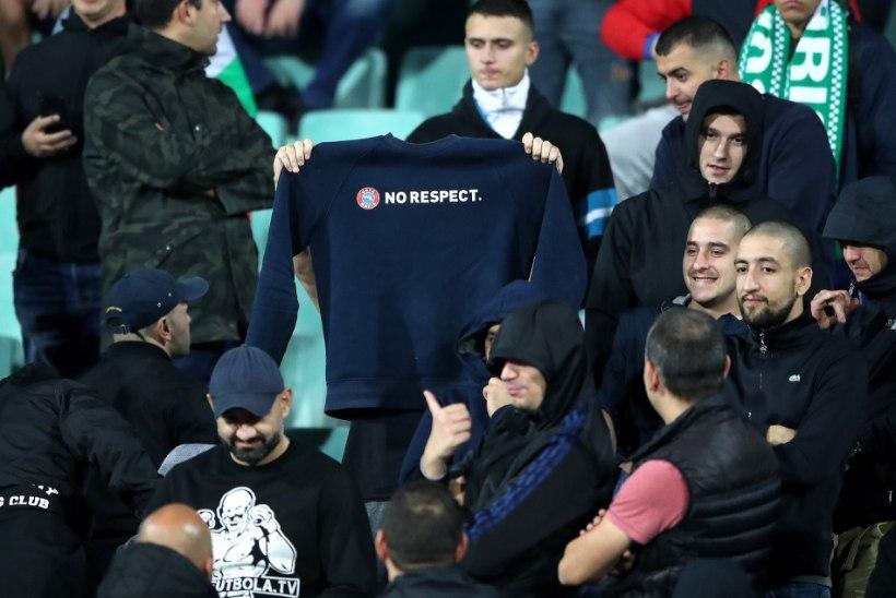 PÜKSATA OTSUS! Bulgaaria rassistid said väiksema trahvi, kui boksereid välgutanud ründeäss