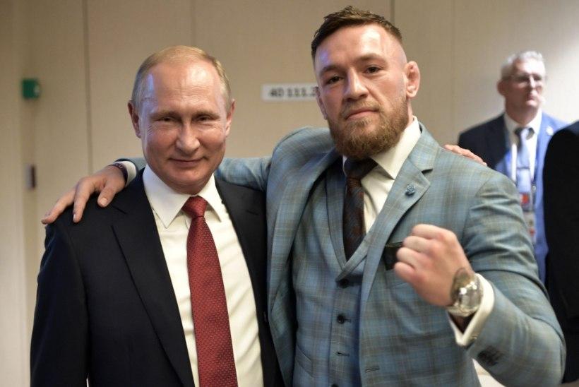 SALAJANE AUSTAJA? Vladimir Putin sai vabavõitlusässalt Conor McGregorilt erilise kingi