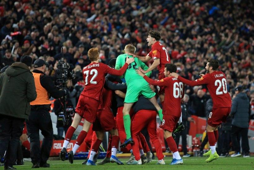 SÕGE ANDMINE! Liverpool ja Arsenal tagusid teineteisele viis väravat, kuid vajasid ikkagi penaltiseeriat