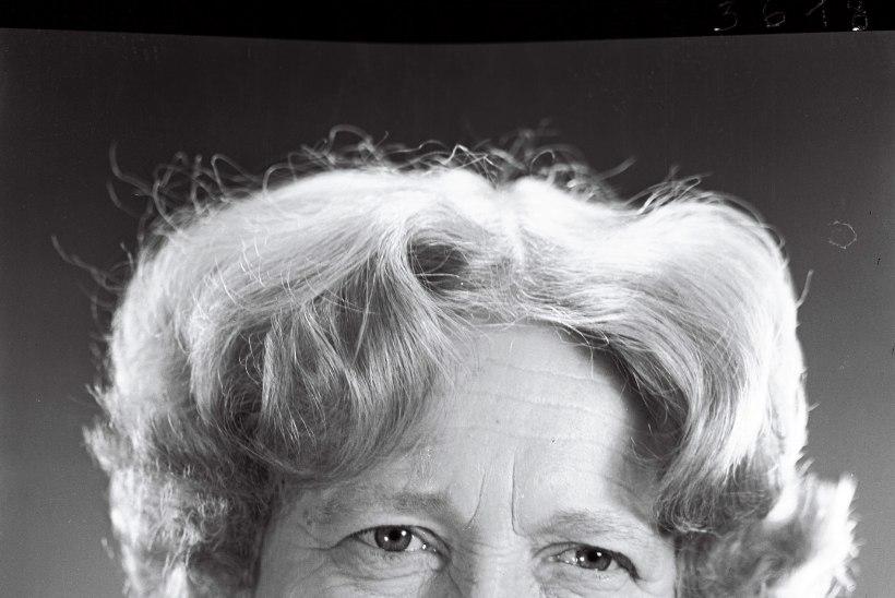 """Näitleja Katrin Välbe lapselaps: """"Pärast poja surma kadus vanaema sära elust. Ta ütles, et ta elu mõte on kadunud."""""""