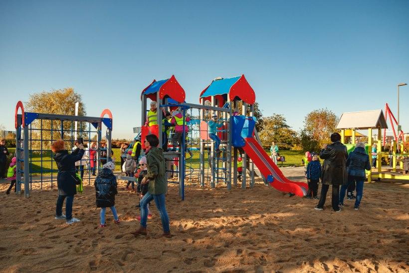 ASJATU HIRM: ära karda mänguväljakut! Karda parem hooletuid vanemaid!
