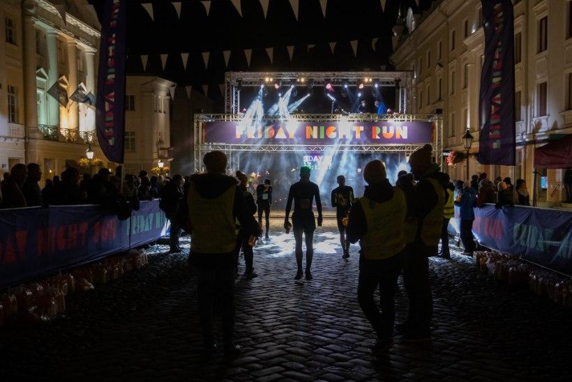 REKORD! Friday Night Run tõi öistele Tartu tänavatele ligi 1500 jooksjat