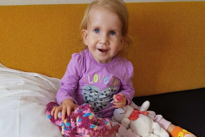 VÄIKE LENNA VAJAB ABI: raske südamepuudulikkusega last saab aidata spetsiaalne aparaat