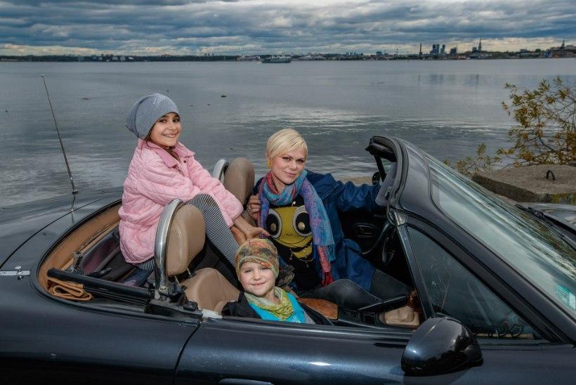 """Heidi Hanso: """"Ma olen täiesti kindel, et autol on hing, seepärast patsutan ja kiidan teda alati, kui oleme sihtkohta jõudnud."""""""