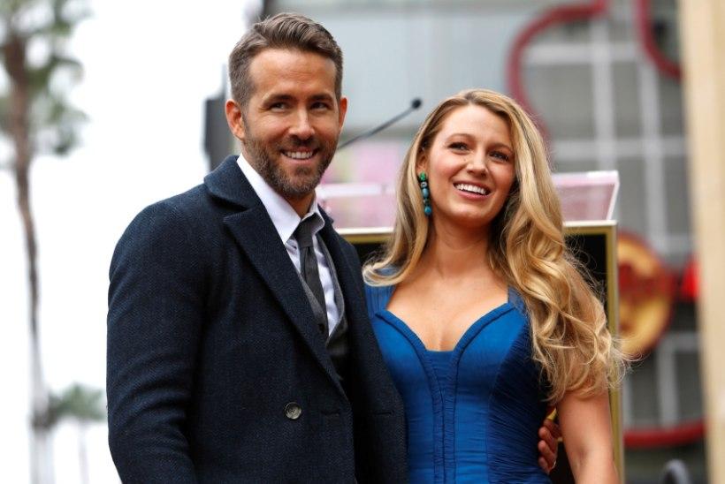 Blake Lively ja Ryan Reynolds said kolmanda lapse