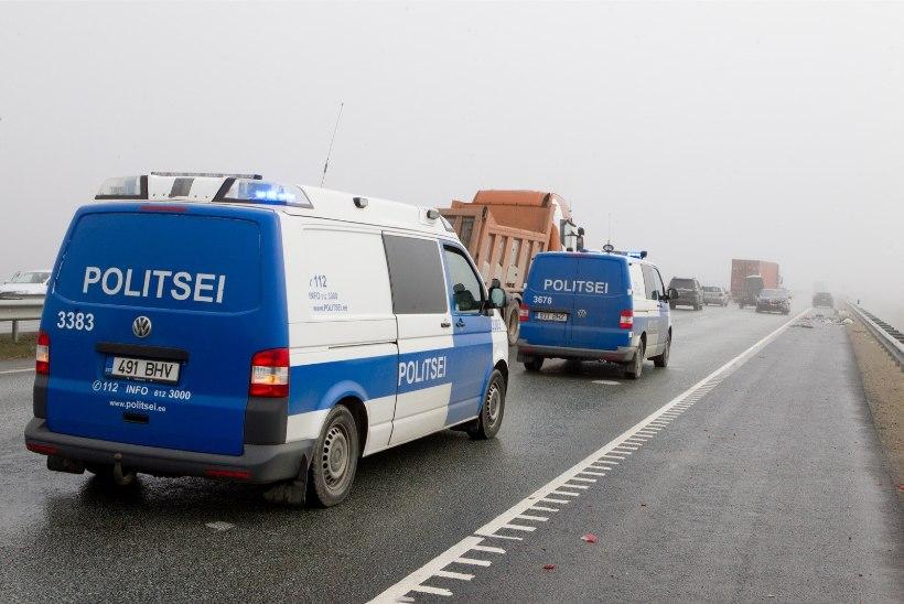 Politsei: külmast tingitud libedus põhjustab juba õnnetusi