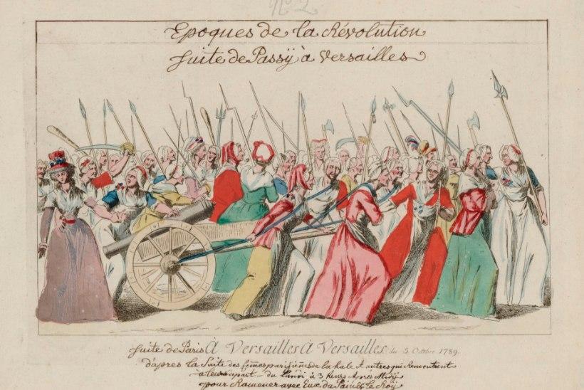 MINEVIKUHETK   5. oktoober: Pariisi naised marssisid kuningalossi ette õiglase hinnaga leiba nõudma