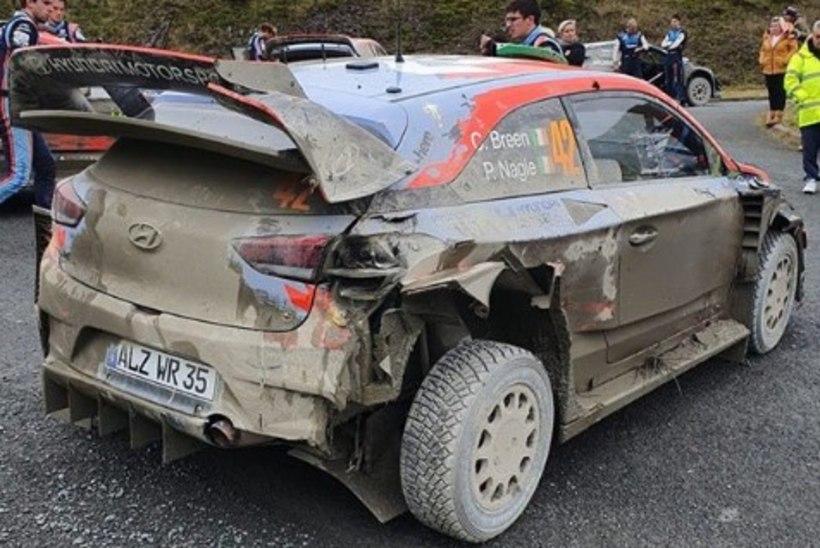 VIDEO | MM-sarjas tagasitulekut nooliv rallitalent kaotas masina üle kontrolli ja tegi õudse avarii