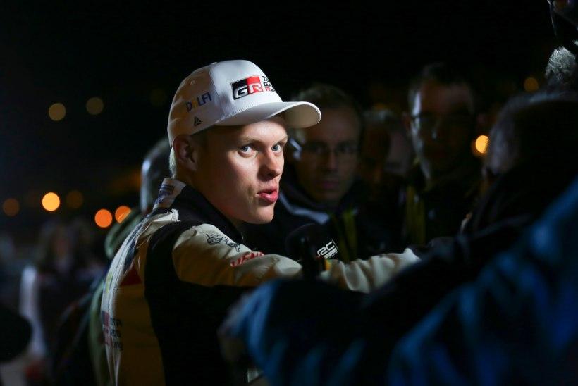 Ott Tänak: teiste sõitjate kiirus tegi tänase päeva eilsest keerulisemaks