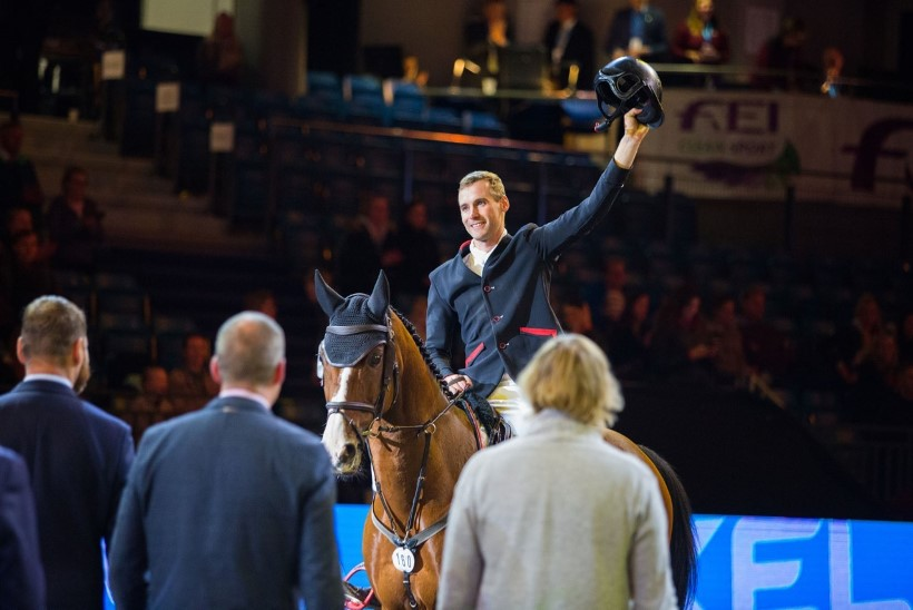 Läti krabas napikalt Eestilt Horse Show MK-etapi võidu