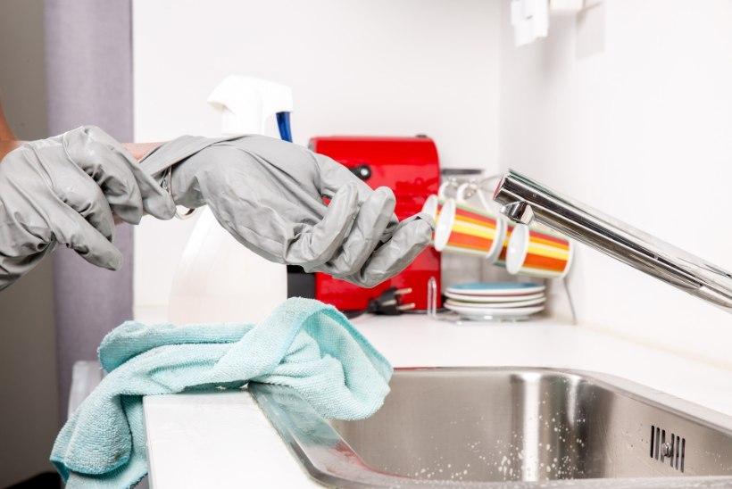 ÄRA KORJA BAKTEREID JA VIIRUSI ÜLES! Kas pesed hoolikalt käsi, kuid ei puhasta neid räpaseid asju?