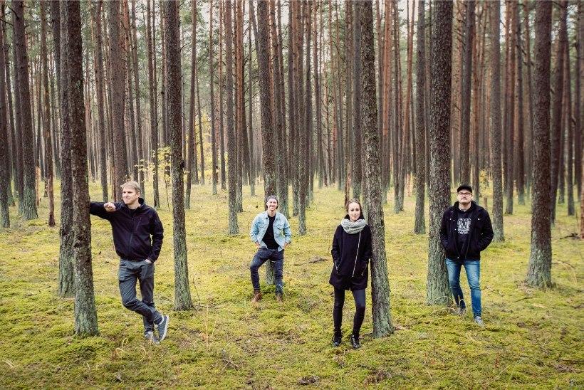 Noortebändi poolfinaali jõudnud Cortical White kütterokkarid: meie unistuste lava oleks paksu metsa sees, kus möll käib