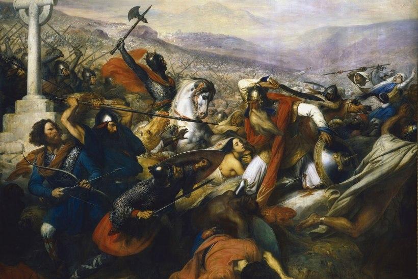 MINEVIKUHETK | 10. oktoober: Toursi lahinguga peatas Karl Martell islami pealetungi Euroopasse