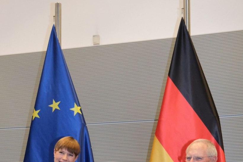 FOTOD | President Kaljulaid Merkelile: digitaalse ühiskonna ülesehitamine algab õigusruumist