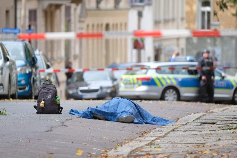 Saksamaal Halle linnas toimus tulistamine – vähemalt kaks inimest on hukkunud