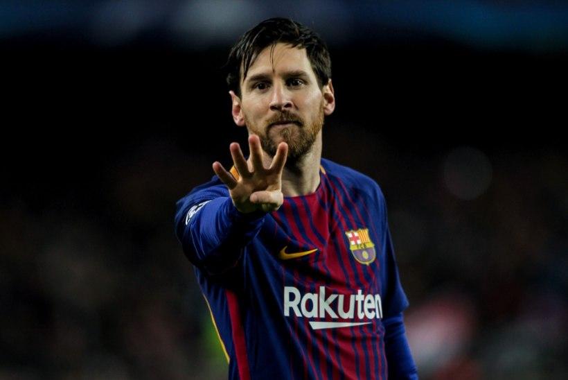 TOHOH! Messi tunnistas, et soovis Barcelonast lahkuda