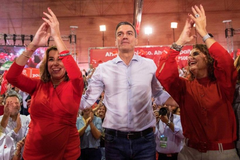 10. NOVEMBER: valitsuseta Hispaania lahendab kriisi uute valimistega