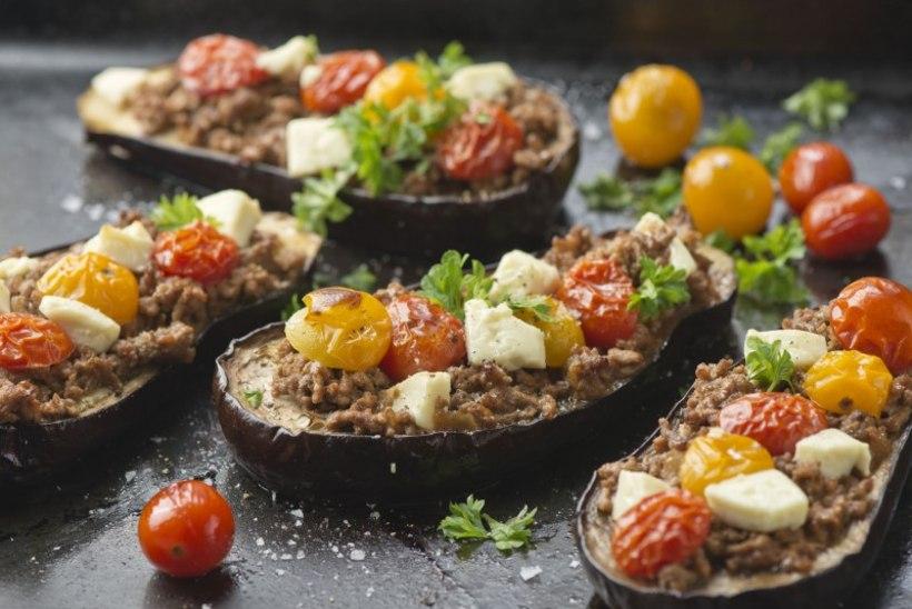 LAUPÄEVA RETSEPT | Baklažaanilootsikud hakkliha, feta ja tomatitega
