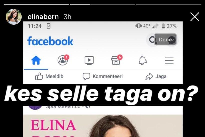 Petuskeemi ohver Elina Born: väga alatu, et kasutatakse minu nime, nägu ja keha sellise asja reklaamiks, millest ma pole kuulnudki!