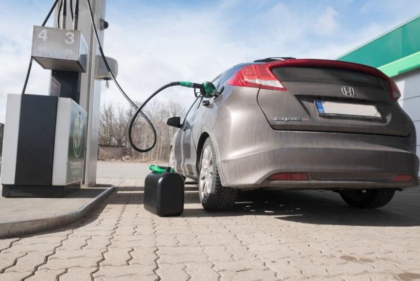 KAART   KEHV SEIS: pikema elektrikatkestuse ajal saab Mandri-Eestis kütust vaid kuuest tanklast, saartel mitte kusagilt
