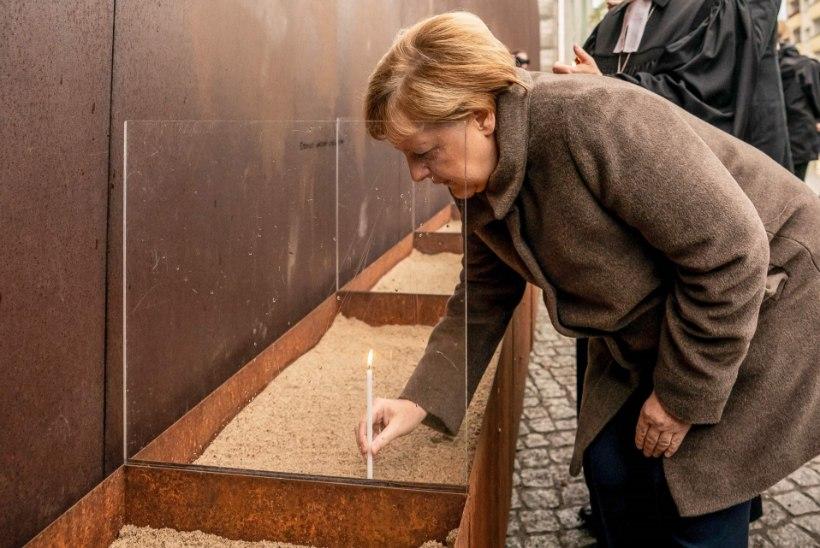 Angela Merkelist sai Saksamaa liidukantsler tänu Berliini müüri langemisele