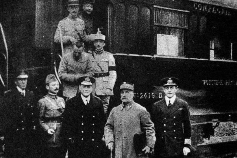 MINEVIKUHETK | 11. november: Compiègne'i vaherahuga lõppes I maailmasõda