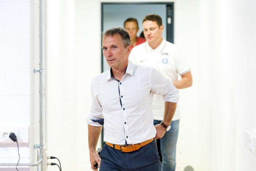 Levadia uus peatreener Martin Reim: minu jaoks pole Flora taust probleem