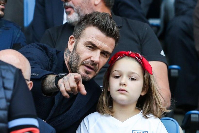 David Beckham on ootamatult range isa!