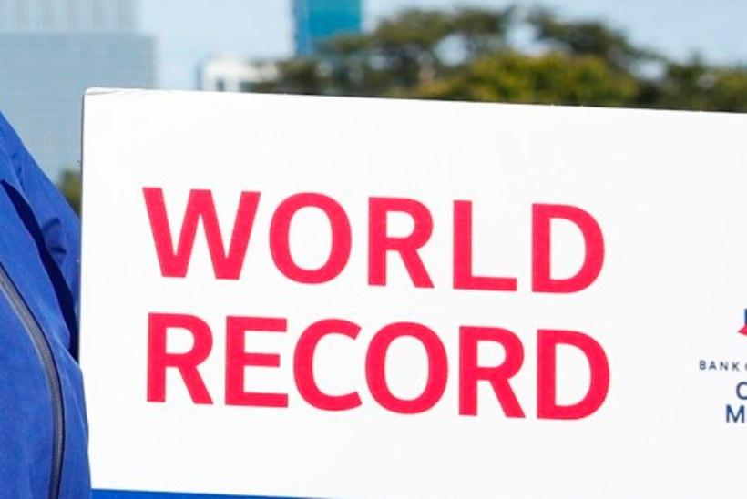 VÄGEV: Keenia jooksja püstitas maailmarekordi