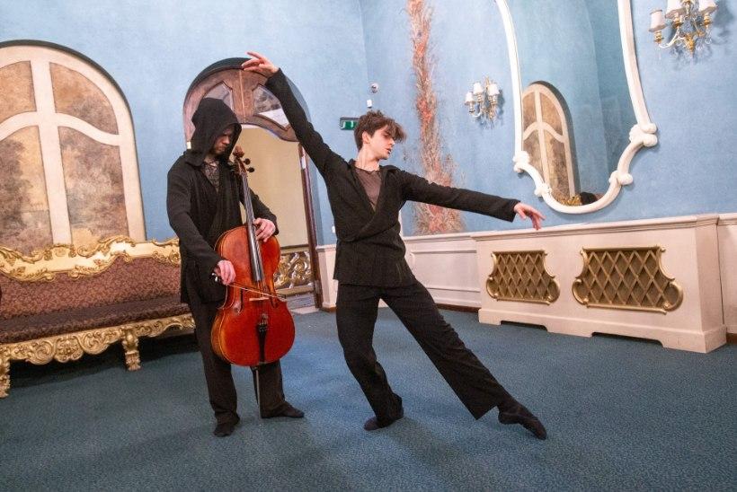 """GALERII  Vene teatri saalis etenduv ballet """"Kuldne tempel"""" viib vaataja Jaapanisse"""