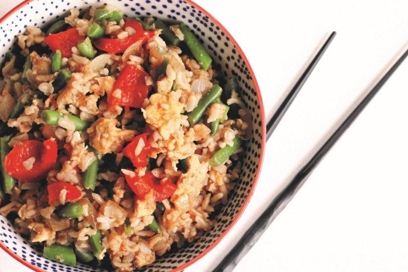 Toit kaheks päevaks: keedetud riisist üht- ja teistpidi