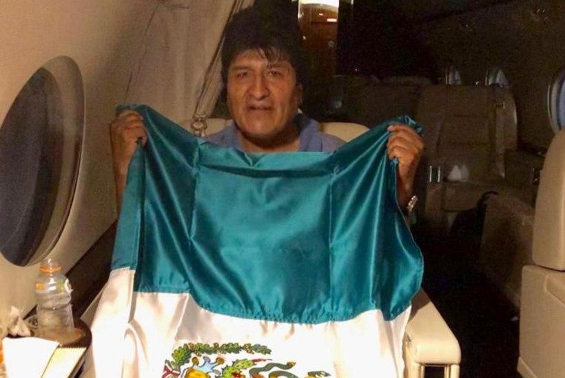 KAOS BOLIIVIAS: tagasi astunud president Evo Morales põgenes Mehhikosse