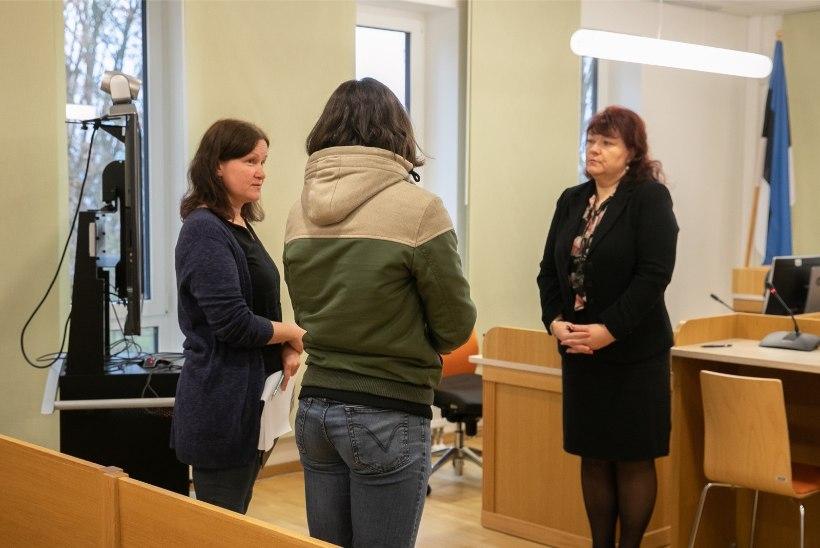 FOTOD KOHTUST | Kohus mõistis Signe Lahteina surma põhjustanud mehele karistuse