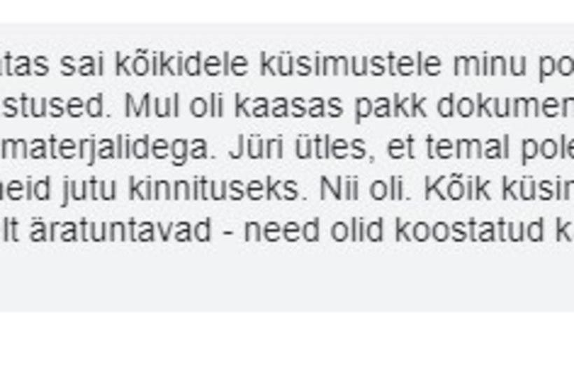 Mart Järvik: peaministri küsimused olid koostatud Illar Lemetti poolt. Peaministri büroo lükkab väite ümber
