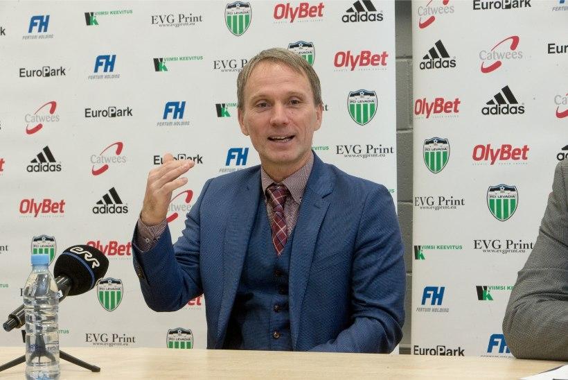 GALERII | AMETLIK! Levadia uueks peatreeneriks saab Martin Reim