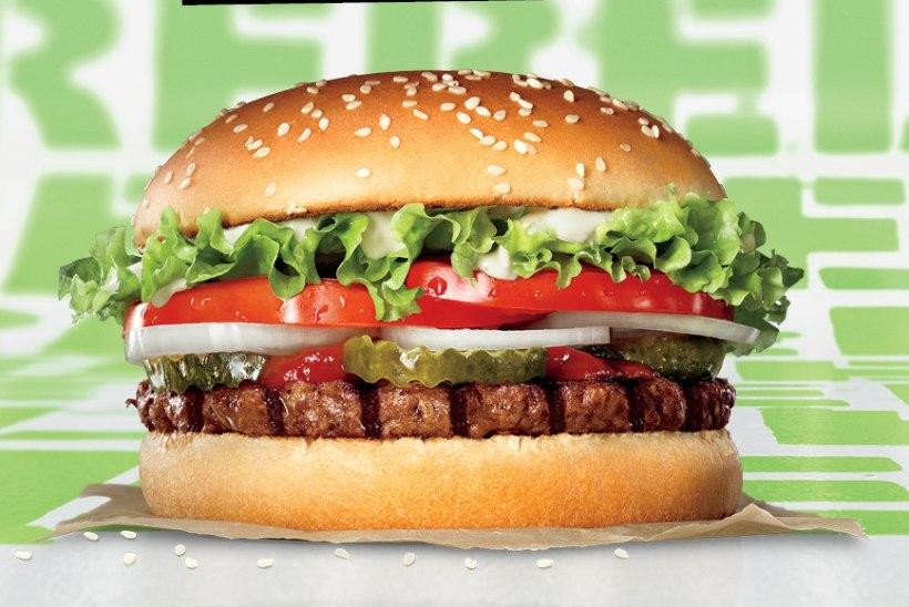 Ülemaailmse kiirtoiduketi uus taimse pihviga burger jõudis ka Tallinnast väljuvatele laevadele