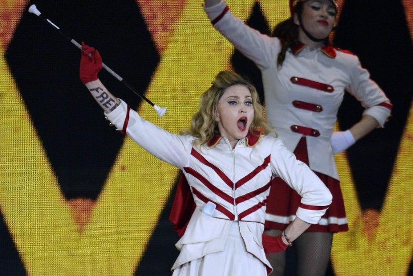 Kes on see julge naine, kes lõi Madonnat ja magas tema mehega?